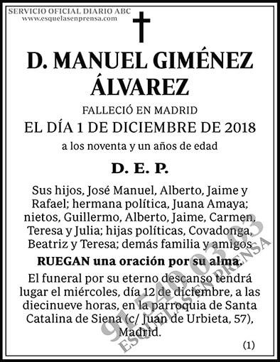 Manuel Giménez Álvarez